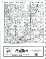 Maple Creek, Liberty T23N-R15E, Outagamie County 1989