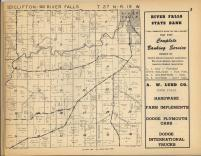 Clifton, River Falls T27N-R19W, Pierce County 1955