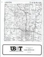 Union T4N-R10E, Rock County 1987