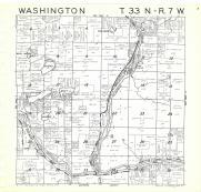 Washington T33N-R7W, Rusk County 1971