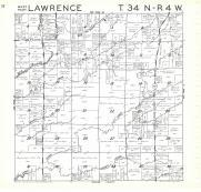 Lawrence T34N-R4W, Rusk County 1971