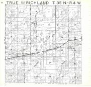 True, Richland T35N-R4W, Rusk County 1971