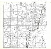 Murry, Hubbard T36N-R7W, Rusk County 1971