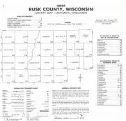 Index Map, Rusk County 1979
