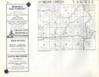 Bear Creek T9N-R3E, Sauk County 1960