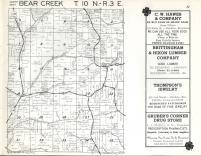 Bear Creek T10N-R3E, Sauk County 1960