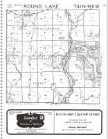 Round Lake T41N-R6W, Sawyer County 1981