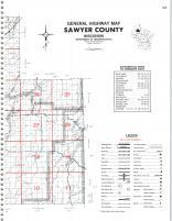 Map Image 040, Sawyer County 1981
