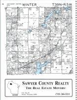 Winter T39N-R5W, Sawyer County 1991