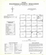 Index Map, Waukesha County 1973
