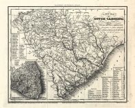 South Carolina 1833 Railroad and Transport Map 17x21 South Carolina 1833 Railroad and Transport Map South Carolina  map online