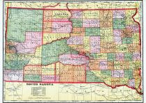State Map, Brookings County 1909