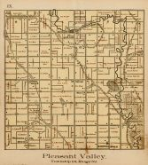 Pleasant Valley Township, Lodi , Bloomingdale Mills, Norwegian Gulch, Clay County 1894
