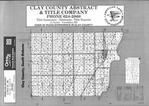 Index Map, Clay County 1994