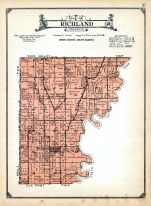 Richland Township, Clay and Union Counties 1924