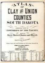 Clay and Union Counties 1924