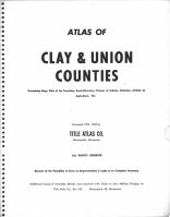 Clay and Union Counties 1959