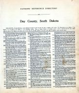 Directory 001, Day County 1929