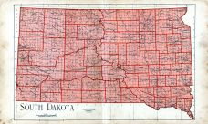 State Map, Day County 1929