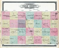 County Outline Map, Faulk County 1910