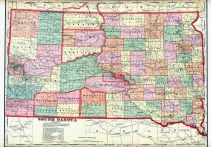 State Map, Faulk County 1910