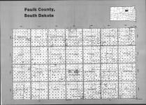 Index Map, Faulk County 1992