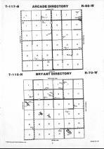 Map Image 005, Faulk County 1992