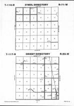 Map Image 008, Faulk County 1992
