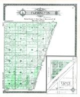 Farmington Township, Troy, Grant County 1910