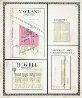 Vayland, Howell, Burdette, Park Row Add., Hand County 1910 Incomplete