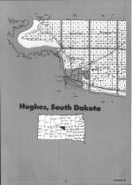 Hughes County Index Map 001, Hughes and Stanley Counties 1992