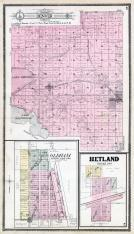 Denver Township, Arlington, Lake Preston, Lake Whitewood, Oldham, Hetland, Kingsbury County 1909