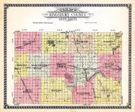 County Outline, Kingsbury County 1929