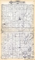 Le Sueur Township, Badger Township, Kingsbury County 1929