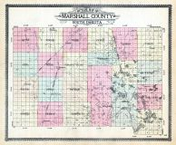 County Outline, Marshall County 1910