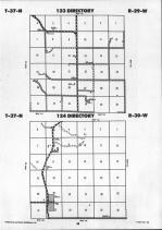 Todd County Map Image 012, Mellette and Todd Counties 1992