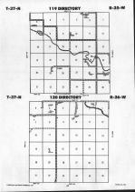 Todd County Map Image 014, Mellette and Todd Counties 1992