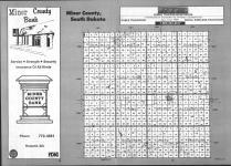 Index Map, Miner County 1992
