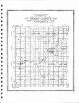 Moody County - Outline Map, Moody County 1909