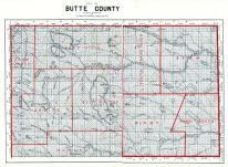 Page 068 and 069 - Butte County, South Dakota State Atlas 1904