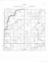 Lake Township, turtle Creek, Cottonwood Lake, Spink County 1961