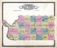 County Map, Sully County 1916
