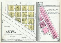Dolton Village, Hooker, Turner County 1902