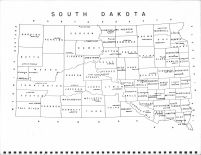 South Dakota State Map, Union County 1966