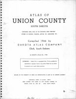 Title Page, Union County 1966