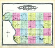 County Outline, Walworth County 1911