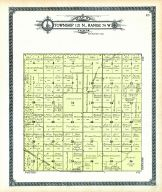 Township 121 N., Range 74 W., Swan Lake, Minneapolis St. Louis R. R. Hoven, Walworth County 1911