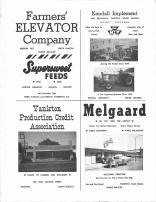 Farmers Elevator Co., Supersweet Feeds, Kendall Implement, Yankton Production Credit Asso., Melgaard