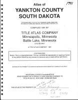 Title Page, Yankton County 1991