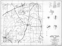 Archer County 1936 Highway Map, Archer County 1936 Highway Map